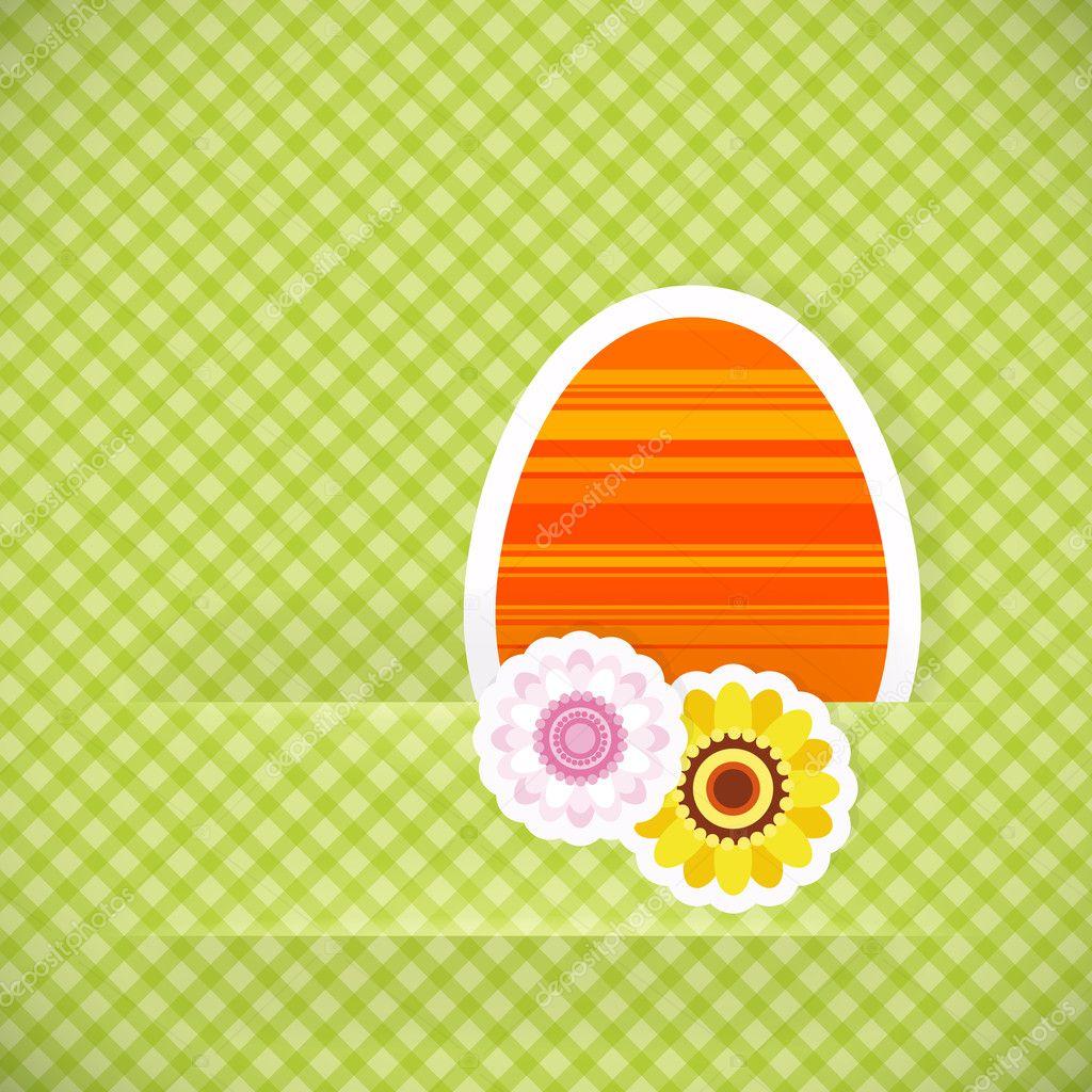 V card background images - Easter Egg From Paper Easter Card Background Stock Vector 9506056