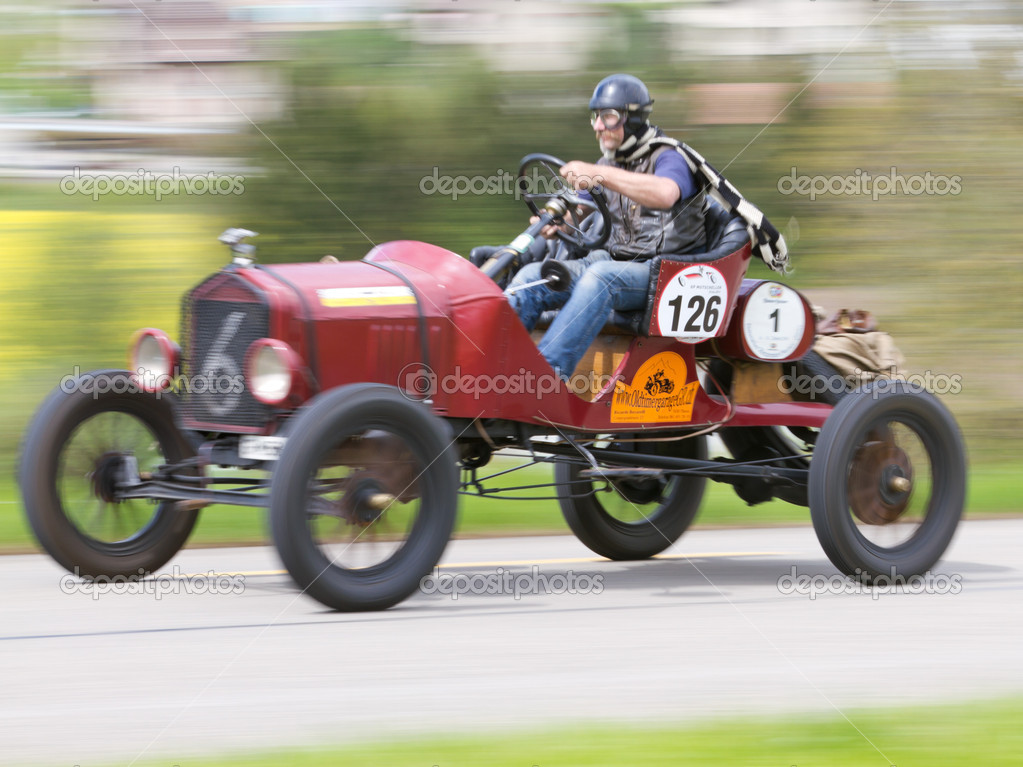 Vintage Pre War Race Car Ford T Racer From 1918 Stock Editorial