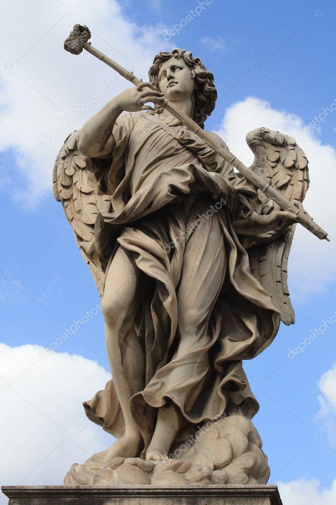Top Angel statue — Stock Photo © mlehmann #8165515 RA01