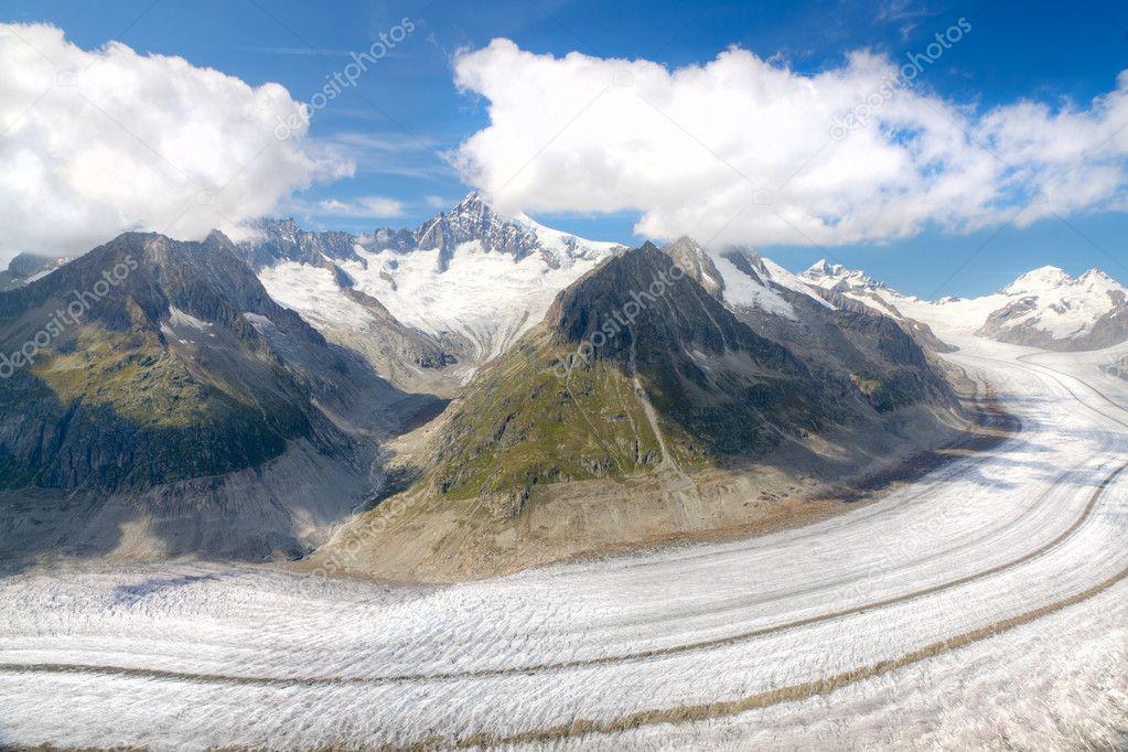 Aletsch glacier, Switzerland