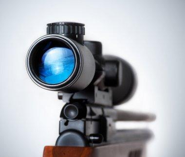 Weapon gun target concept