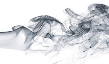 Wave and smoke background
