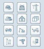 Stavební ikony   Tech série