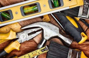 Set of manual tools
