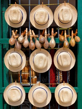 Traditional souvenirs for sale in Old Havana
