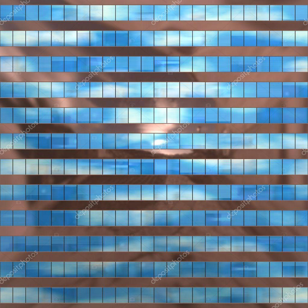 Seamless Pattern Resembling Glass Windows On A Modern