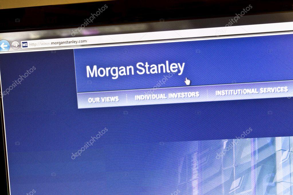 Morgan Stanley – Stock Editorial Photo © ibphoto #7975185