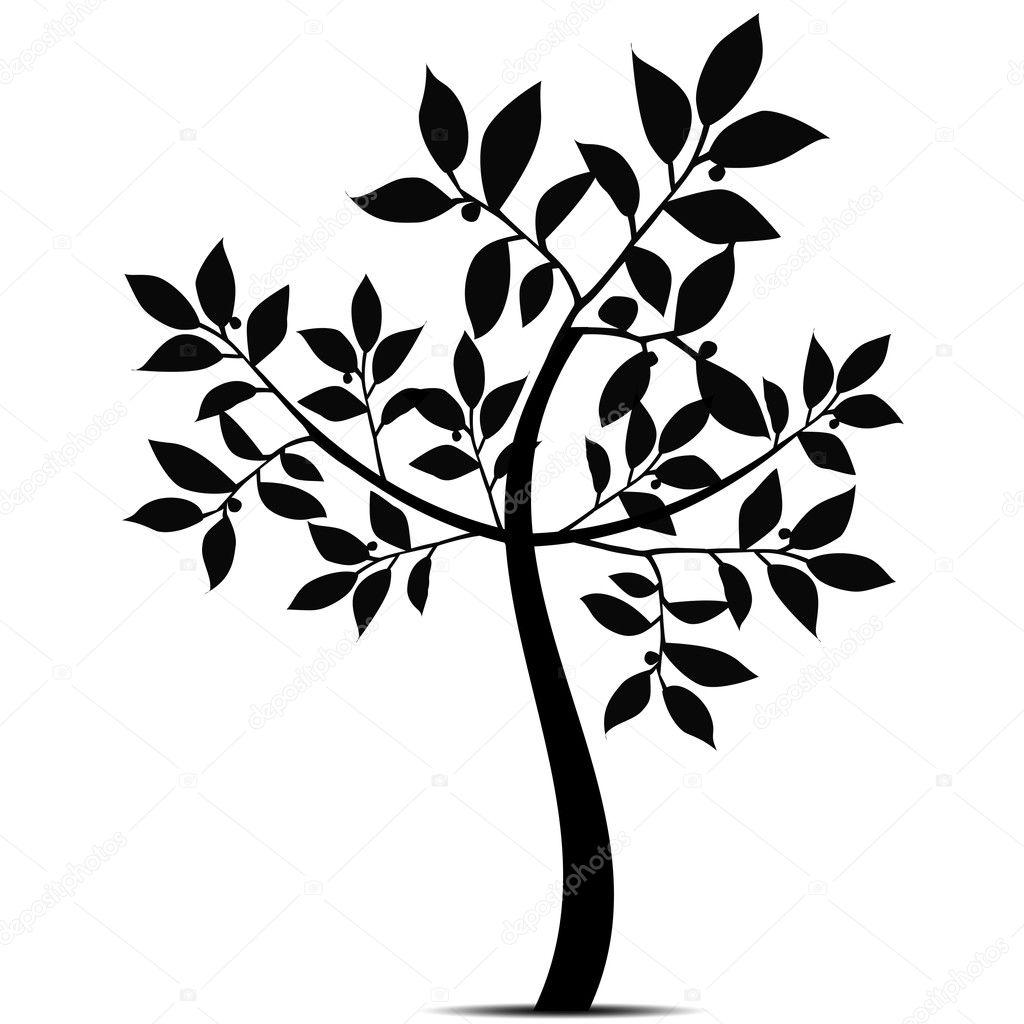 Art Tree Silhouette