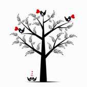Fotografia albero di San Valentino