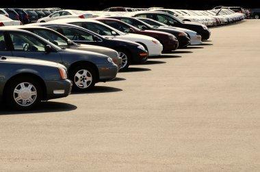 Cars on Car Lot