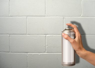 Wall spraying