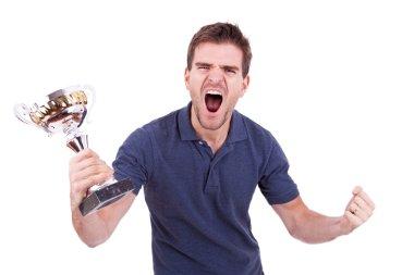 Scream of victory