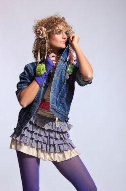 80's Fashion woman