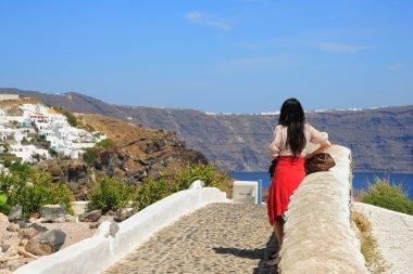 View of Fira town - Santorini