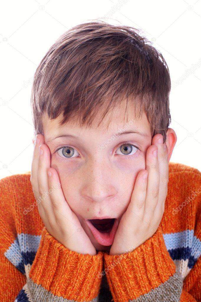 Resultado de imagen para niño horrorizado