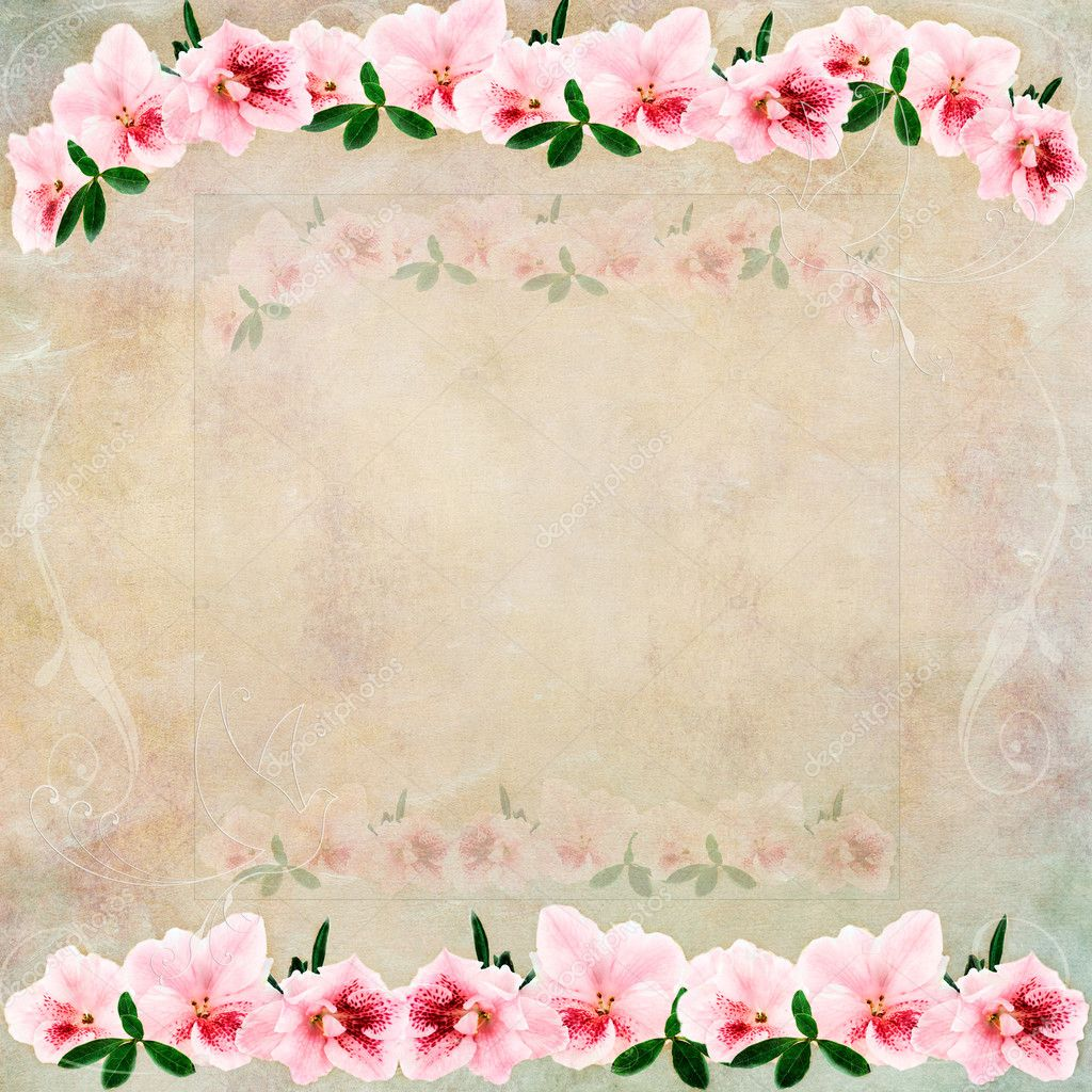 Vintage Floral Background Stock Photo C Stephaniefrey 9286644