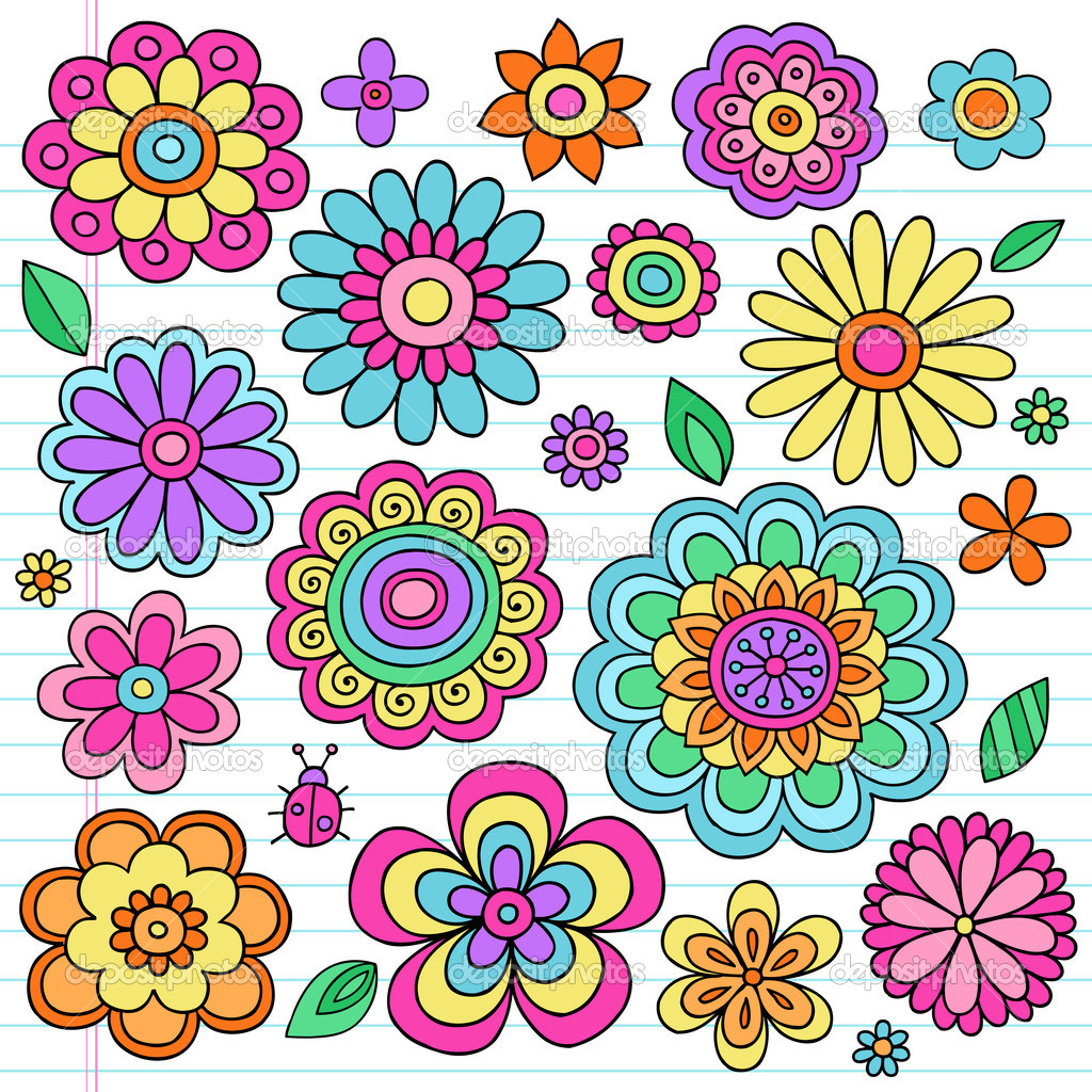 ᐈ Flower Peace Sign Stock Cliparts Royalty Free Flower Power Pictures Download On Depositphotos
