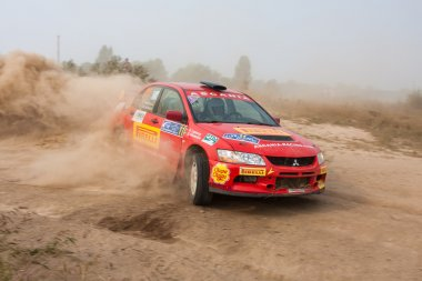 The 5-th stage of the championship of Ukraine Alexandrov Rally