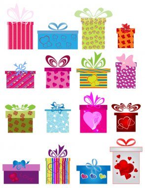 Different gift boxes