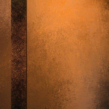 Orange copper background