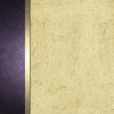 Purple and cream background