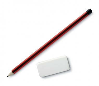 Pen and eraser