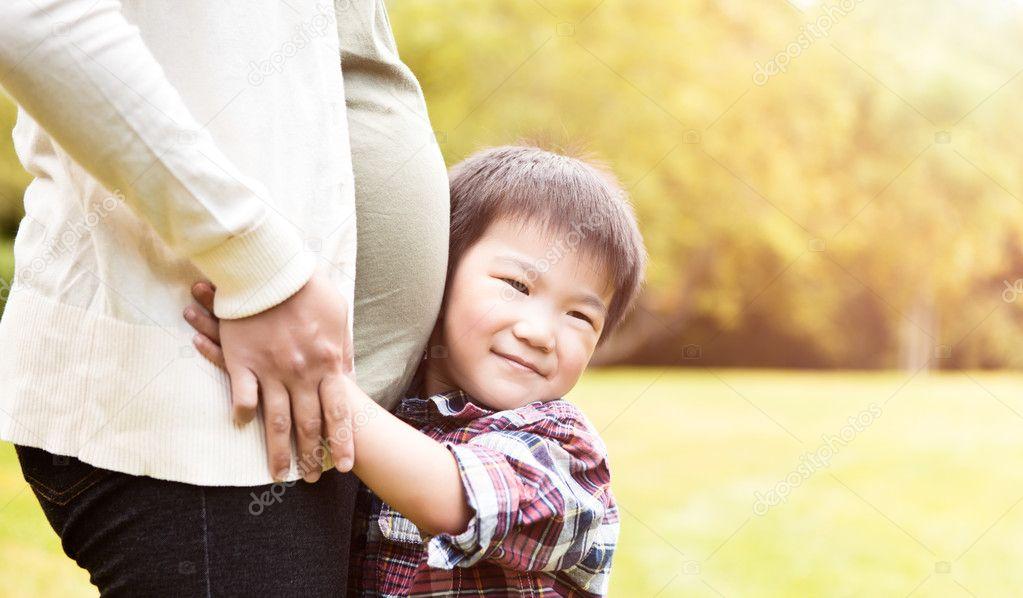 азиатки беременные фото