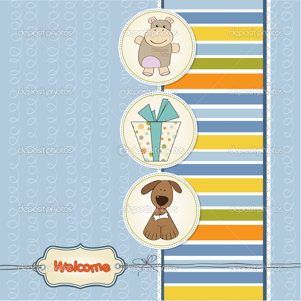 Welcome greeting card with animals stock photo claudiabalasoiu welcome greeting card with animals stock photo kristyandbryce Choice Image