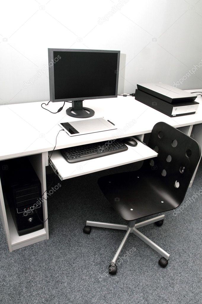 Kleine Computer Studio Stockfoto Jonnysek 9094149
