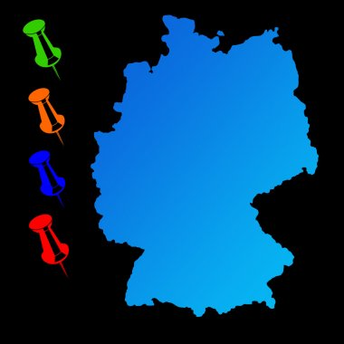 Germany travel map