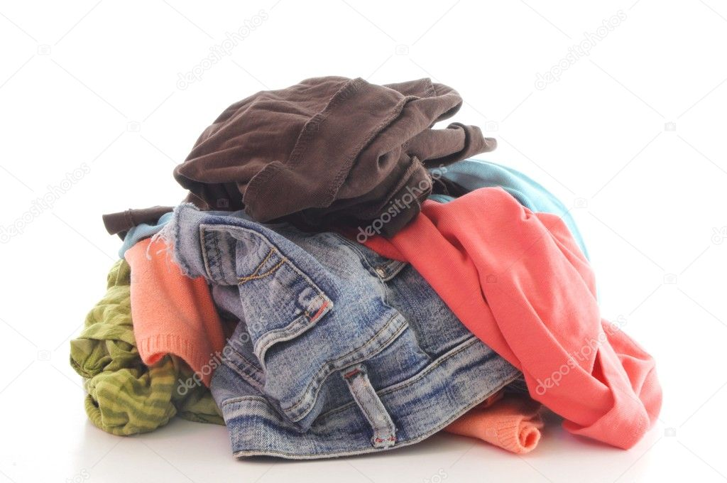 Dirty clothing