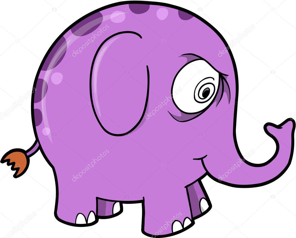 Galen i elefanter