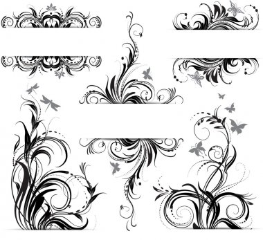 Floral ornament stock vector