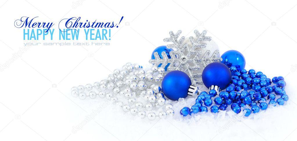 Im genes navidad azul adornos de decoraci n de navidad for Adornos navidenos 2017 trackid sp 006