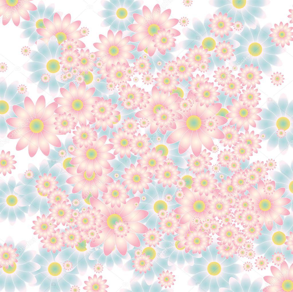 illustration soft floral - photo #7