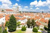 Vrtbovské zahrady a kostel svatého Mikuláše, Praha, Česká republ