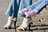 Fotografie Letní boty a obuv pro děti