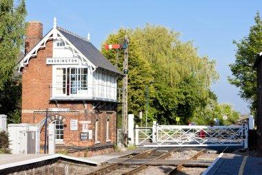 Railway museum and railway station, Heckington, East Midlands, E
