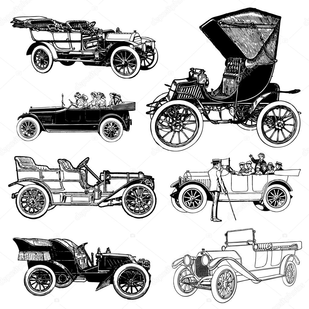 Tractor Drawing For Kids as well Victorian Clipart together with Stock Illustration Vector Vintage Cars likewise Raggedy Ann Coloring Page 19 moreover Drawings Of Old Trucks Drawn Vehicle Pickup Truck Pencil And In Color Drawn Vehicle. on old antique cars