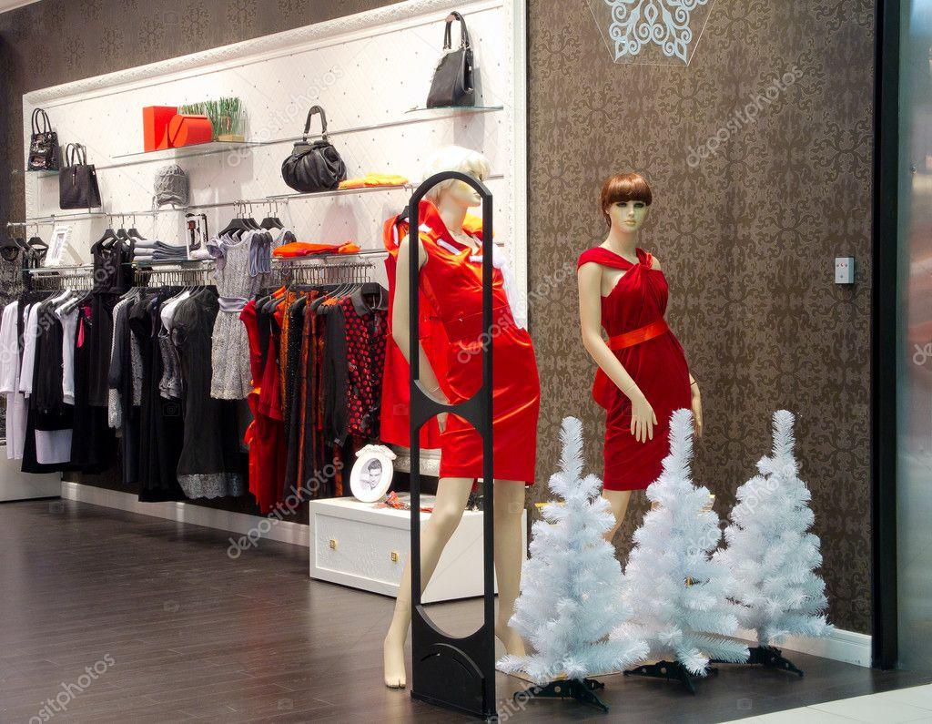 interieur van lingerie winkel — Stockfoto © toxawww #8027850