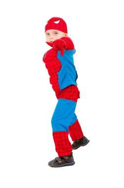 Little boy in carnival costume