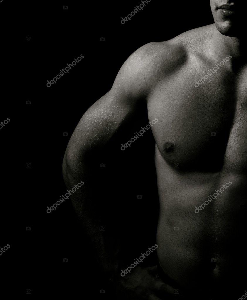 фото черно белые мужское тело фото