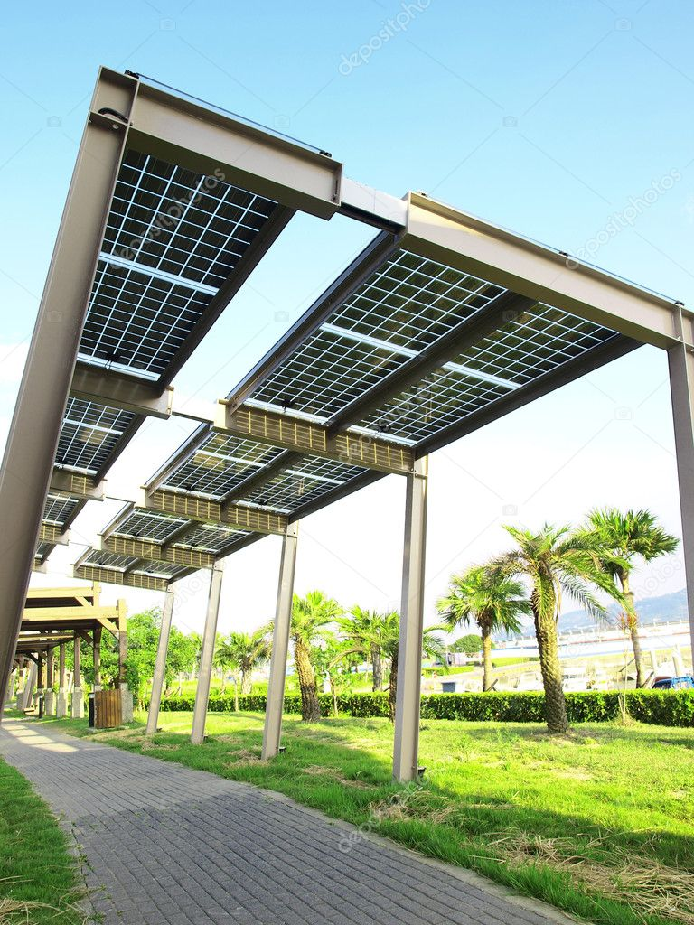 Power solar panel