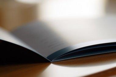 Opened brochure