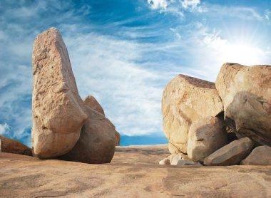 Rocks of Hampi, state of Karnataka, India.