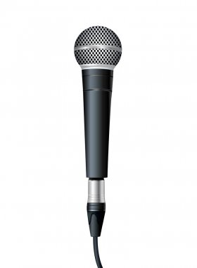 Microphone. Vector illustration