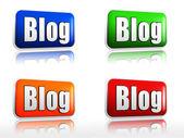 Blog nápisy