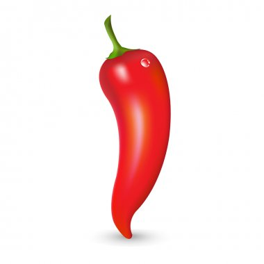 Red Hot Pepper With Drop