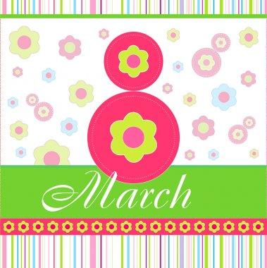 Vector card 8 March
