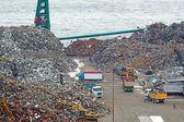 Photo Scrap yard recycling